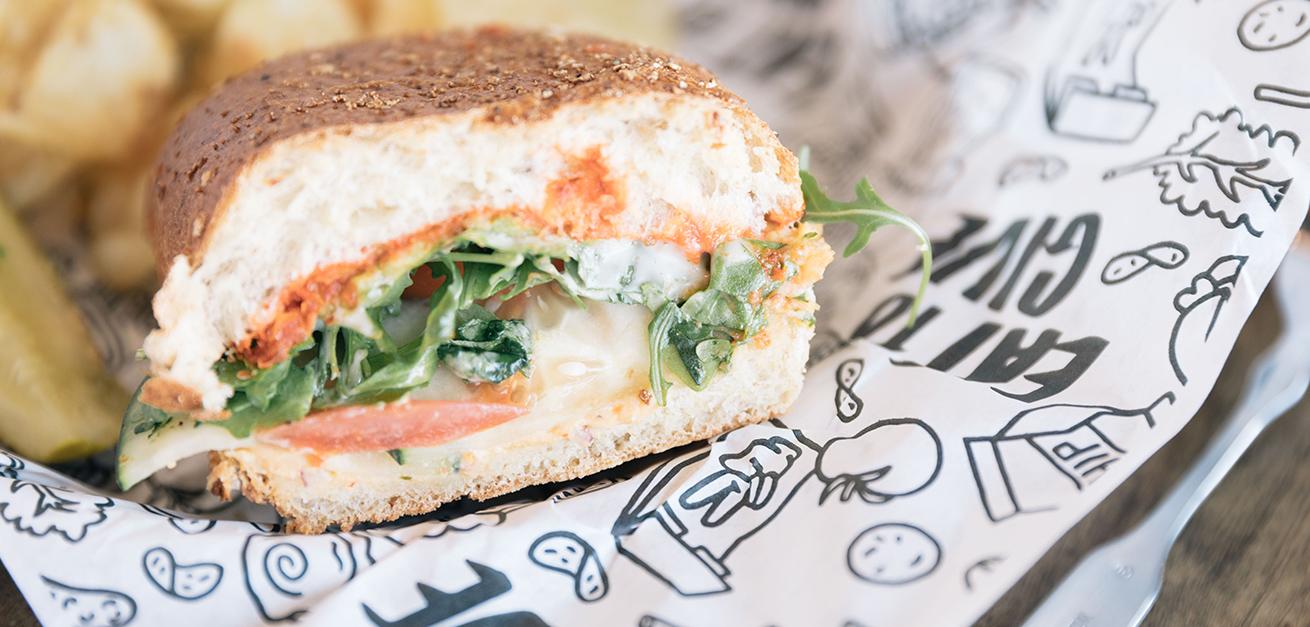 Lunch sandwich near Sloan's Lake