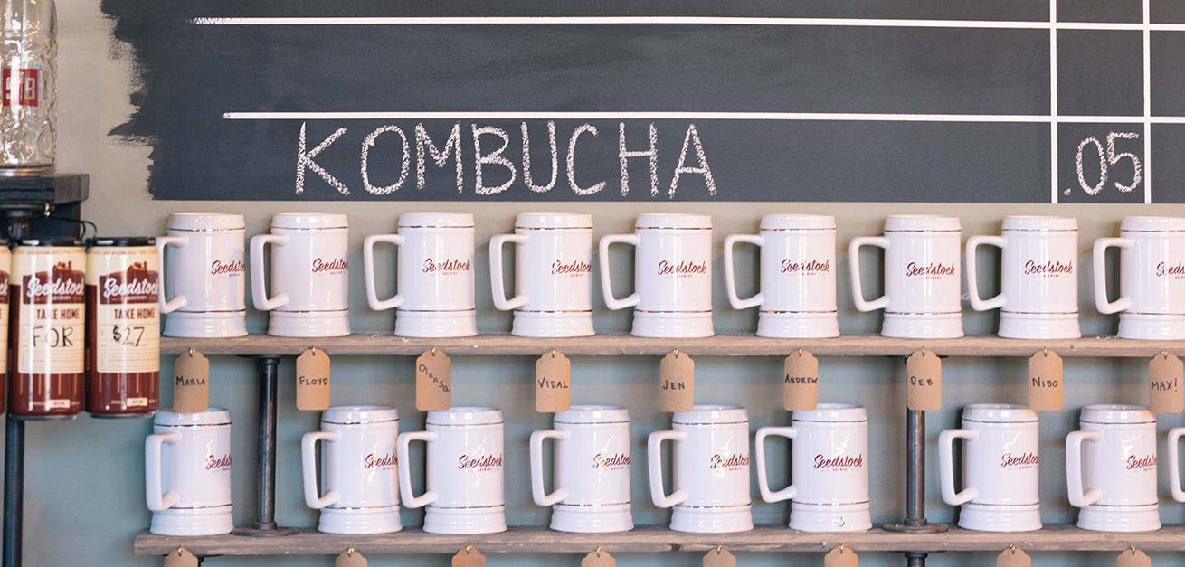 Kombucha mugs